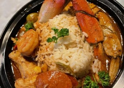 The Bussdown Soul Food Truck's Seafood Gumbo