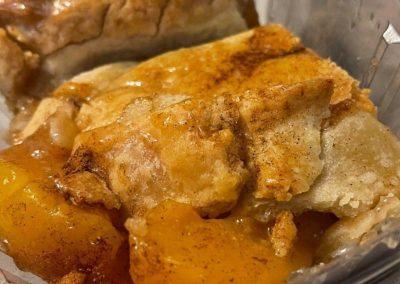 The Bussdown Soul Food Truck's Peaches' Peach Cobbler